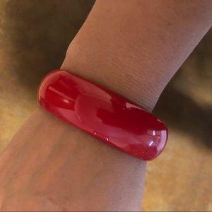 Tarina Tarantino Jewelry - Tarina Tarantino Red Bangle Bracelet